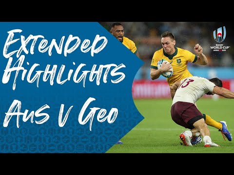 Extended Highlights: Australia 27-8 Georgia - Rugby World Cup 2019