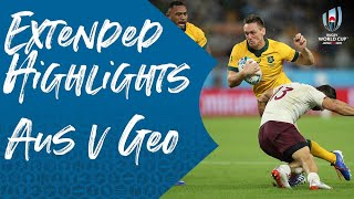 Extended Highlights: Australia v Georgia