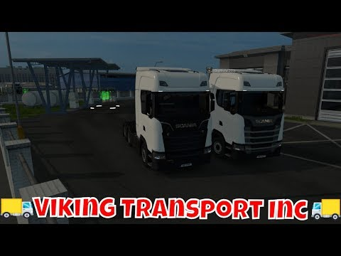 Euro Truck Simulator 2 # VTC Trucking With Viking Transport # Open Beta  1 32 Convoy With With BigRic