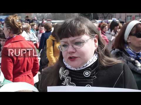 Russia: 'Petersburg, we are with you' - Kursk honours victim
