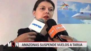 03/08/15 14:35 AMAZONAS SUSPENDE VUELOS A TARIJA