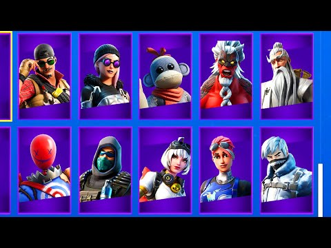 10 LEAKED FORTNITE SKINS That You Have NEVER SEEN BEFORE! (Season 11)