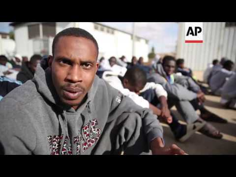 Migrant camp calls for international support