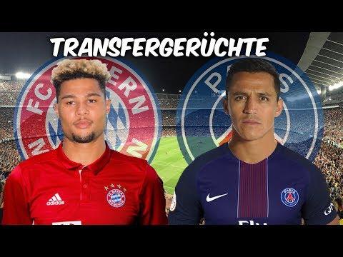 Gnabry wechselt zu den Bayern ! Sanchez zu Paris Saint-Germain ? Transfers und Transfergerüchte 2017