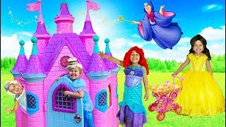 Disney Princess Tea Party  Princess Castle and Halloween Costumes