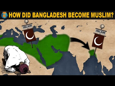How did Bangladesh become Muslim?