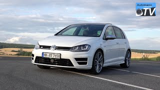 2015 Volkswagen Golf 7 R (300hp) - DRIVE & SOUND (1080p)