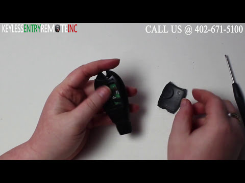 How To Replace Dodge Challenger Key Fob Battery 2012 2013