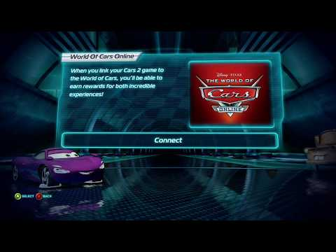 Cars 2: The Video Game: World Of Cars: Online