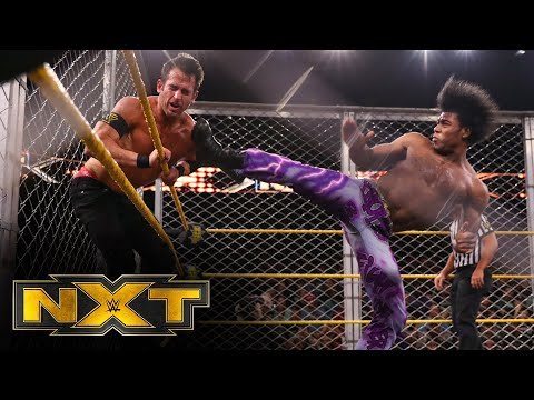 The Velveteen Dream vs. Roderick Strong – Steel Cage Match: WWE NXT, March 4, 2020
