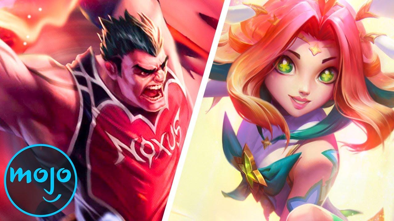 Top 10 Best League of Legends Skins thumbnail