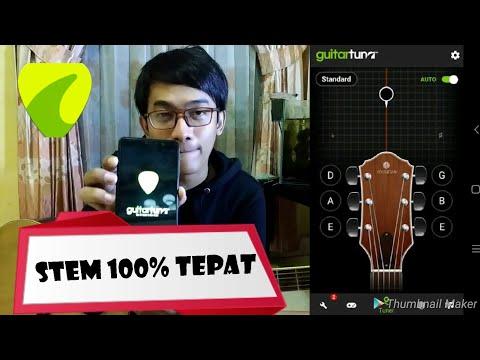 Tutorial Cara Stem Gitar Menggunakan Aplikasi Mudah