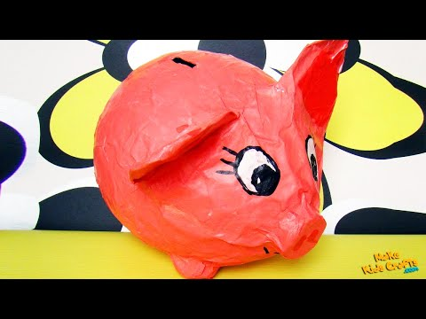 How to make Piggy Bank? DIY
