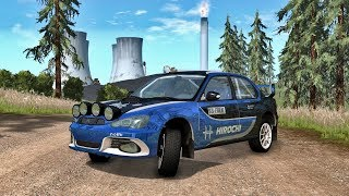 BeamNG Drive Rally Stage 5   Crashes and fails