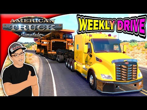American Truck Simulator Tom Dooley's Peterbilt 579 Weekly Drive