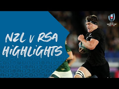HIGHLIGHTS: New Zealand 23-13 South Africa - Rugby World Cup