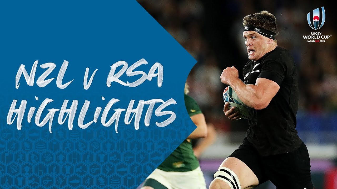 HIGHLIGHTS: New Zealand v South Africa - Rugby World Cup 2019 image