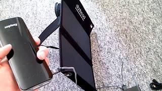 dodocool 12W Solarladegerät 10000mAh 2-USB-Port Solar Power Bank