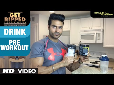 Pre Workout Drink | GET RIPPED Male & Female FITNESS MODEL Program by Guru Mann