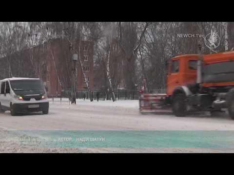 Телеканал Новий Чернігів: Снігопад у Чернігові| Телеканал Новий Чернігів