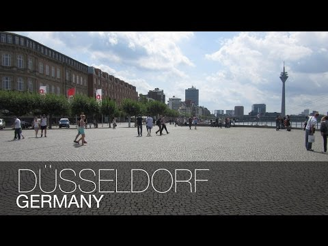 TRULLY A GERMAN CITY!! | Dusseldorf, Germany