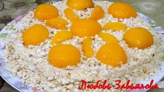 Сметанный тортик (без яиц) рецепт 1957 года/Sour cream cake recipe of 1957