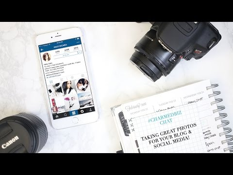 Taking Great Photos for Your Blog and Social Media | Pro Tips & Tools with Haley Cairo!