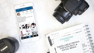 Taking Great Photos for Your Blog and Social Media   Pro Tips & Tools with Haley Cairo!