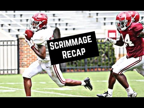 Alabama Crimson Tide Football: 10 things we learned from scrimmage two