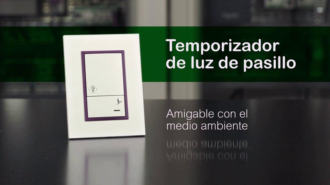 Luz de escaleras autom/ática interruptor de rel/é de tiempo temporizador de escalera