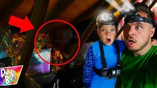 Exploring Our Spooky Attic! What's Inside??