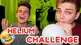 the helium balloon challenge gone wrong ft bruhitszach
