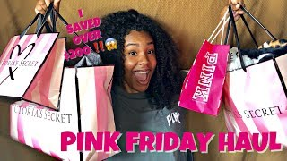 BACK TO SCHOOL  VS PINK Friday Haul !