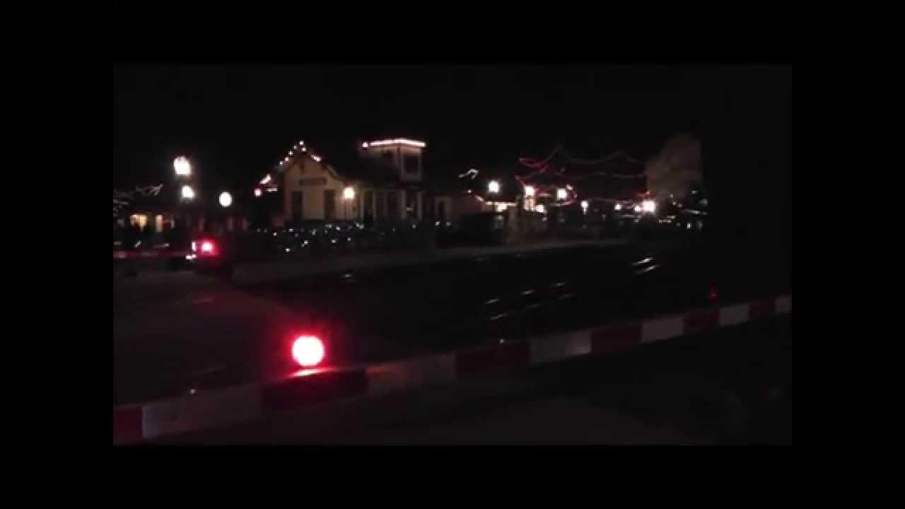Huckleberry Railroad Christmas 2014 - YouTube
