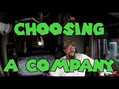 Choosing The Right Trucking Company.