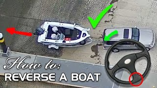 How to: Reverse your boat trailer the EASY way(and boat ramp etiquette)