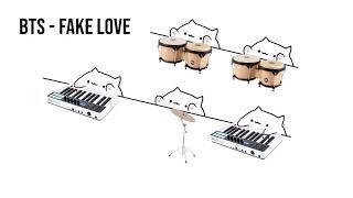 "Bongo Cat - BTS ""Fake Love"" (K-POP)"