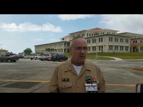 Navy Surgeon General visits Guam