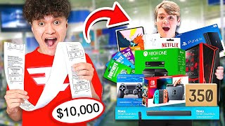I'll Buy Anything Mongraal Can Carry Challenge (15 Year Old)