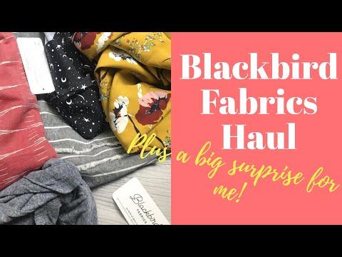 Blackbird Fabrics Haul