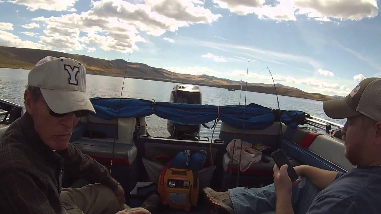 Fishing at strawberry reservoir utah fall 2014 youtube for Strawberry reservoir fishing