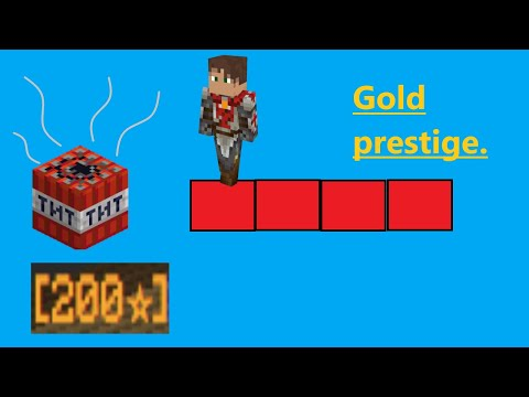 Gold prestige and it is completely meaningless
