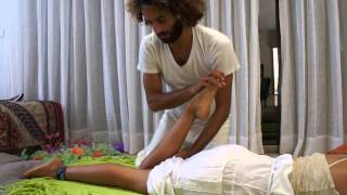 chinese medicine- ub 40 acupressure for lower back pain