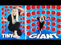 100 Tiny vs Giant Mystery Buttons But Only One Lets You Escape...