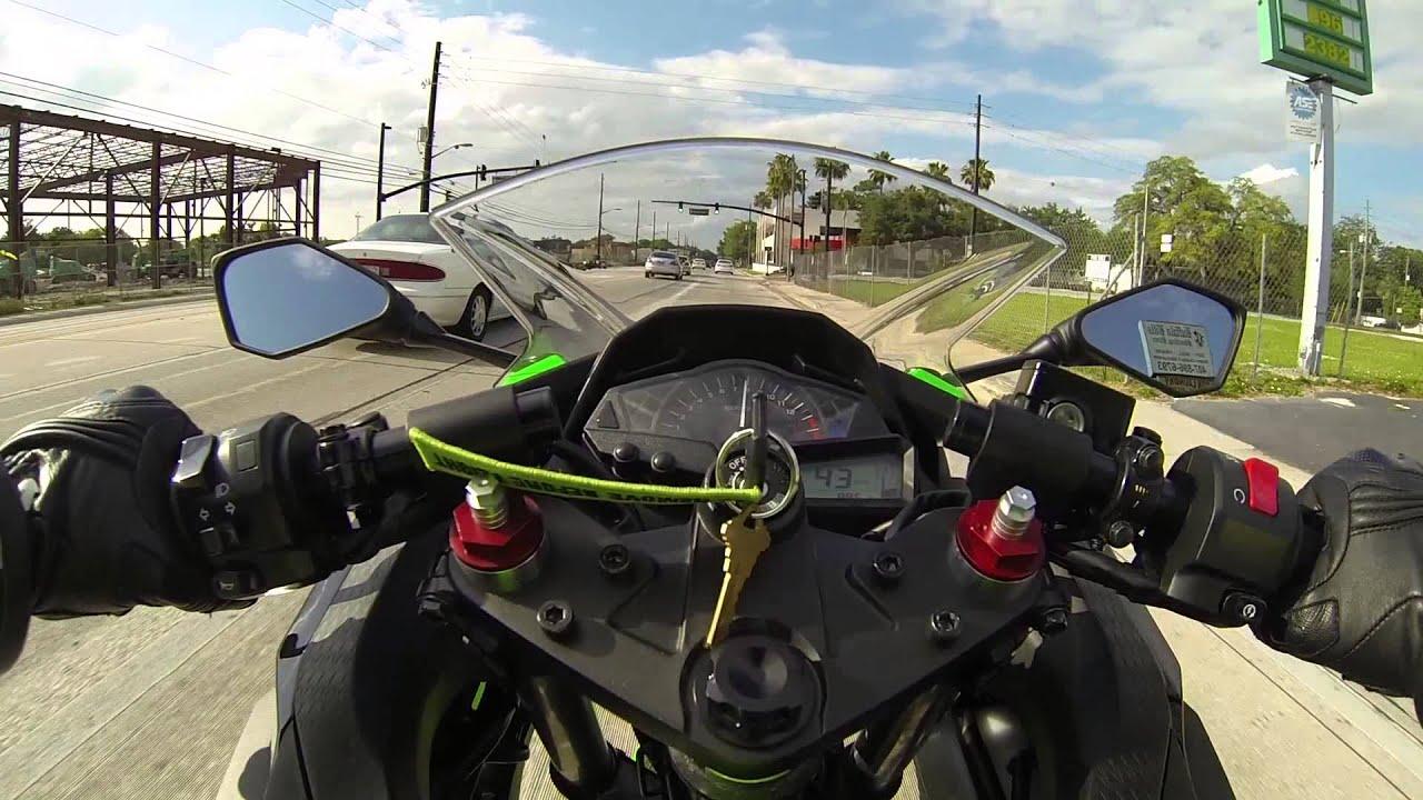 ninja 300 ride