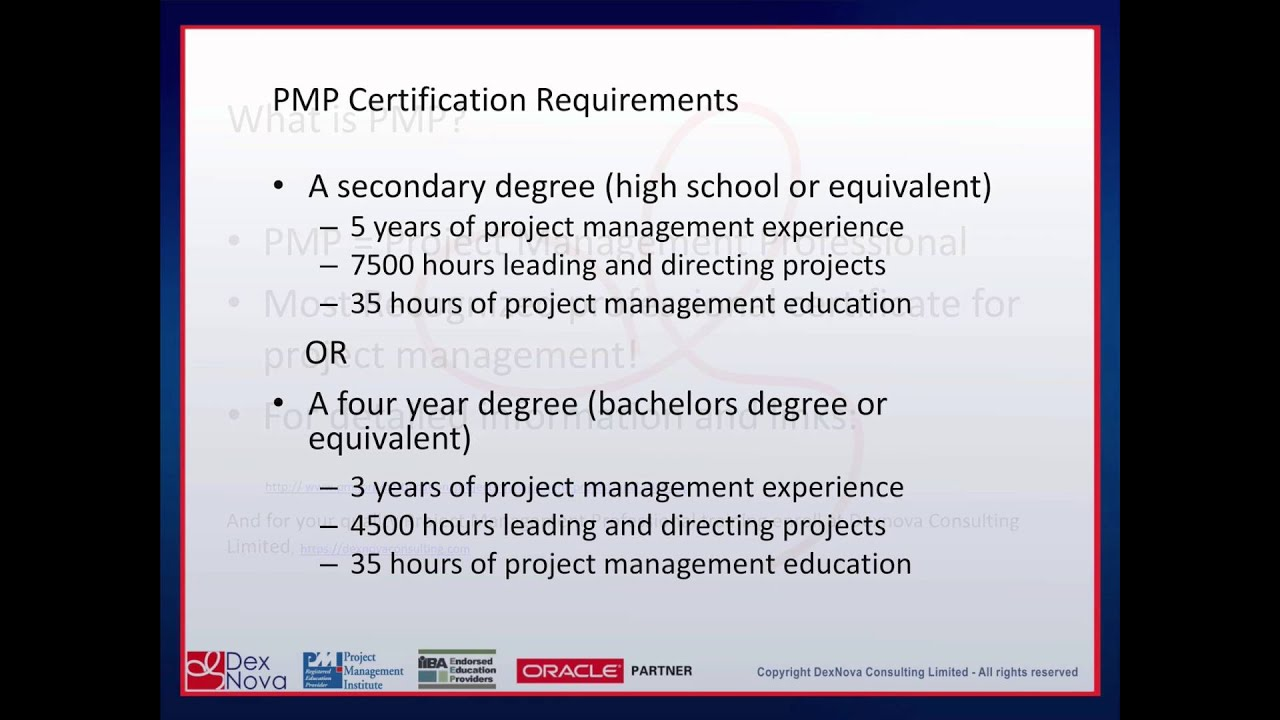 What Is Pmp Youtube
