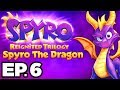 Spyro The Dragon Ep.6 - MAGIC CRAFTERS & BLOWHARD BOSS!!! (Reignited Trilogy Gameplay / Let's Play)