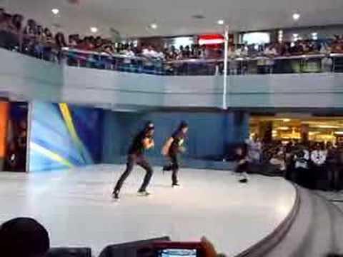 Philippines AllStars performing at Sm north Edsa