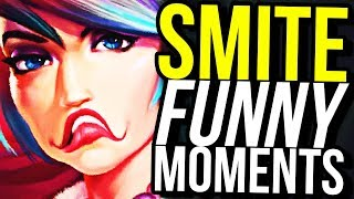 """I'M MAD SO I'M GONNA FEED AND BLAME MY TEAMMATES"" (Smite Funny Moments)"
