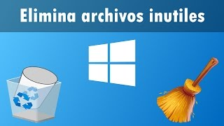 Como Limpiar la PC de Archivos Basura | Windows XP,7,8 Y 10 | Sin programas | Microsoft Windows